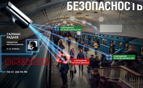 Видеоналитика в метро, обнаружение опасных личностей с целью обеспечения безопасности